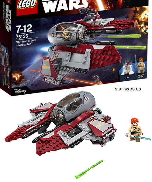 Set Obi-Wan's Jedi Interceptor