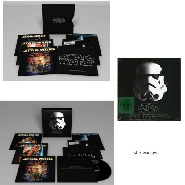 Star Wars Ultimate Soundtrack collection